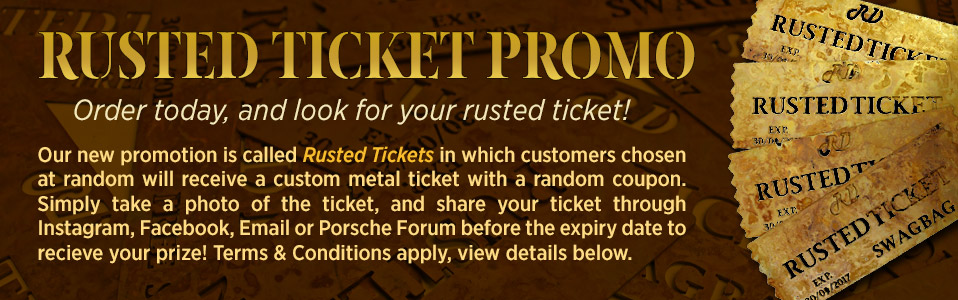 Rusted Ticket Promo