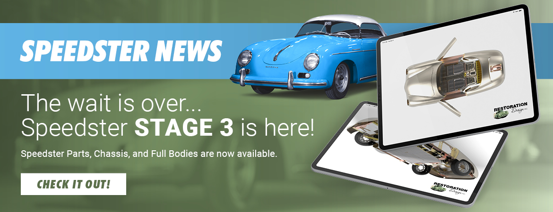 Speedster News Banner