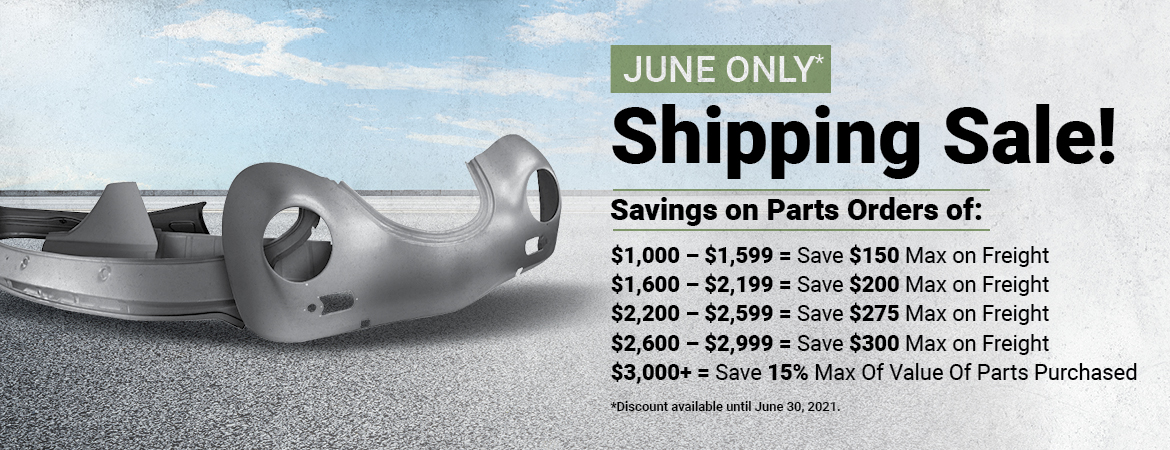 June Shipping Sale