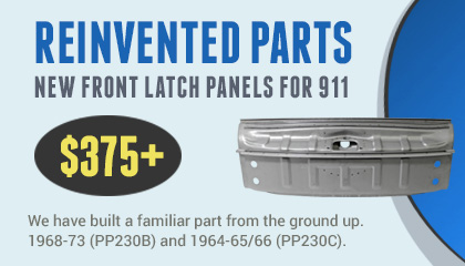 PP230 Front Latch Panel